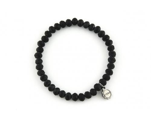 Armband schwarz matt