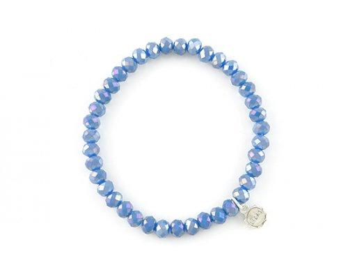 Blaues Basic Armband