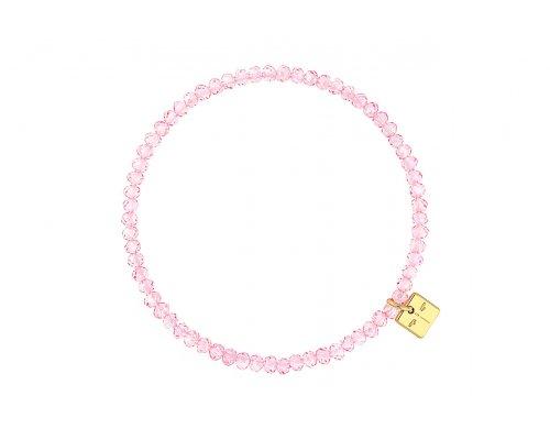 Basic Armband in Rosa