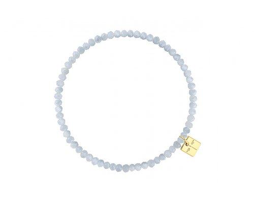 Basic Armband in Grau