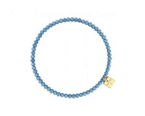 Basic Armband in Blau
