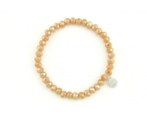 Armband in Apricot