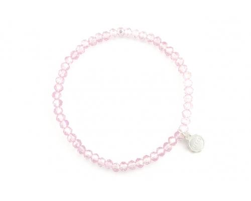 Armband in zart rosa