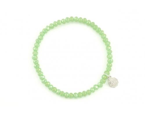 Grünes Basic Armband