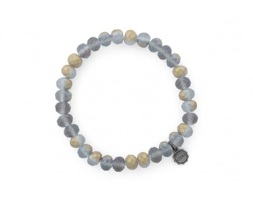 Armband in Grau