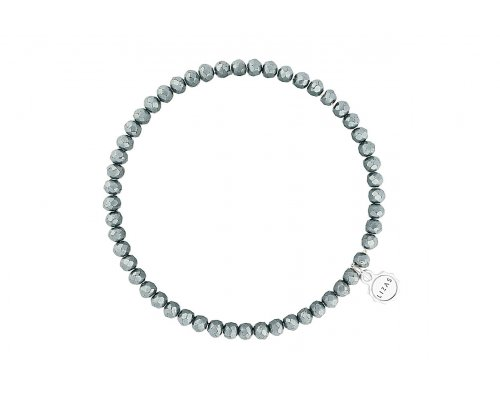 Silber Glasperlen Armband