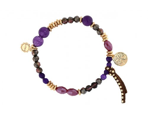Armband in Lila