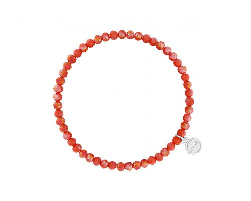 """Armband """"Knoxville"""" - Strawberry Sorbet"""