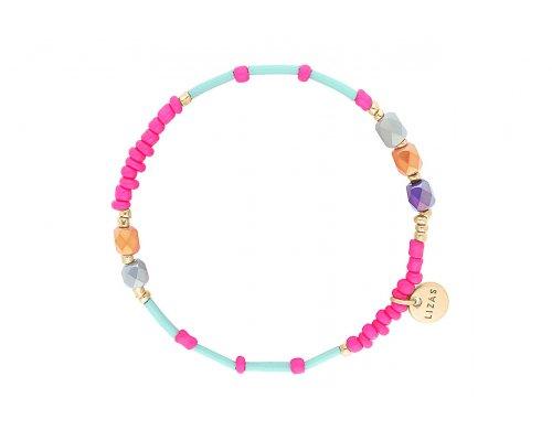 Armband - Surfer Beads Pink