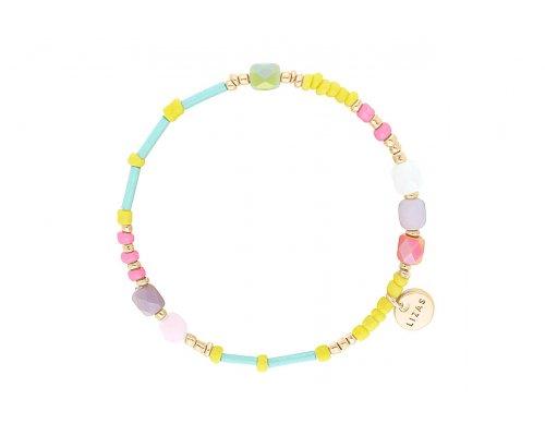 Armband - Surfer Beads Yellow