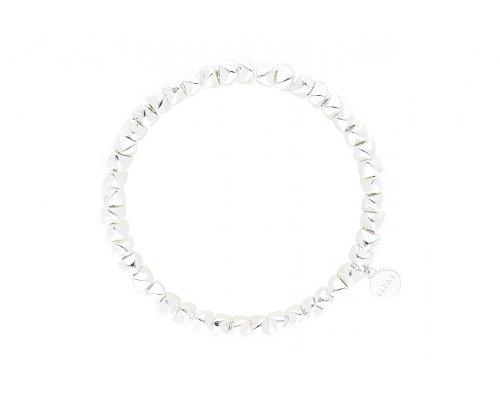 """Armband """"Livingston"""" - Charme Silber"""