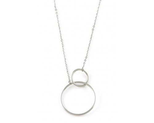 Halskette mit Ringe als Anhänger