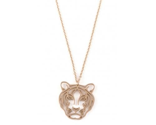 Halskette mit Tiger Kopf