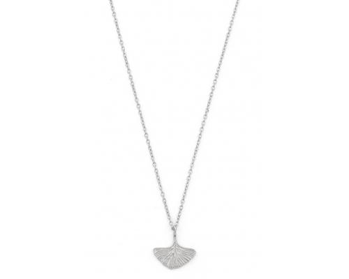 Halskette Ginkoblatt