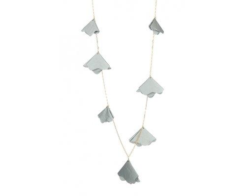 Halskette Silver Satin