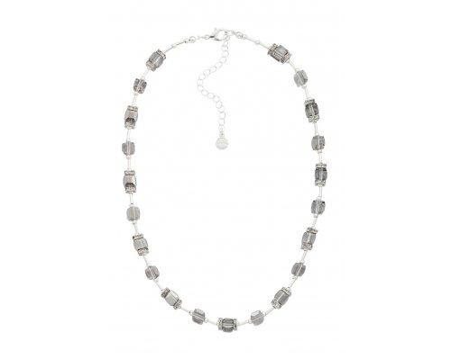 Halskette - Grey Crystal