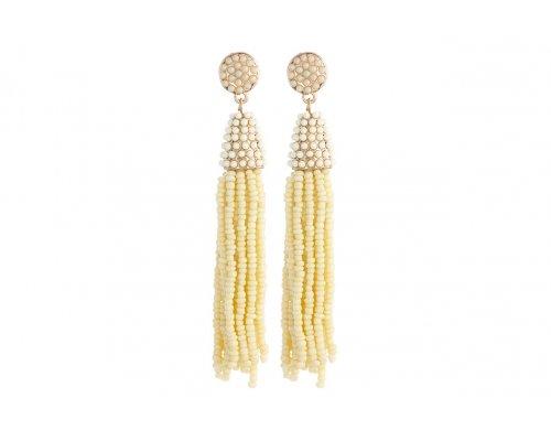 Ohrhänger Tassel Beads