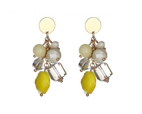 Ohrringe Yellow Gems