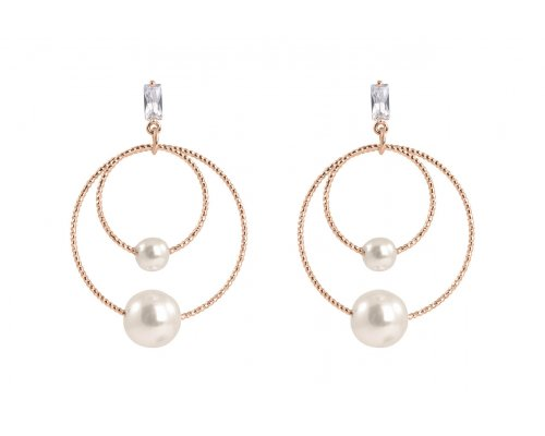 Ohrring - Orbit of Pearls
