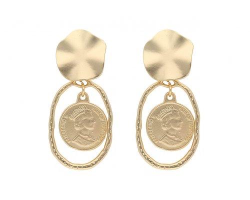 Ohrhänger - Golden Elizabeth