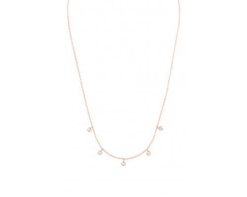 Halskette Rosegold Posh