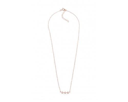 Halskette mit drei Sternen