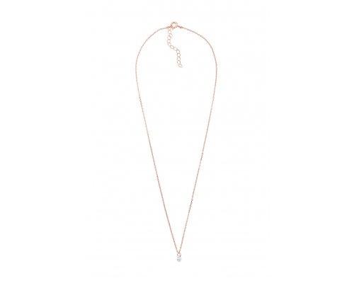Halskette mit Kristall Anhänger