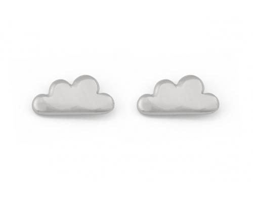 Wolken Ohrstecker