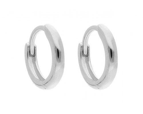 Ohrring - Silver Circle