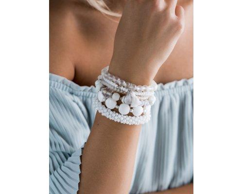 Crystal Clear Set aus Armbändern
