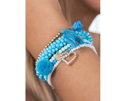 Armband Set Malibu Blue