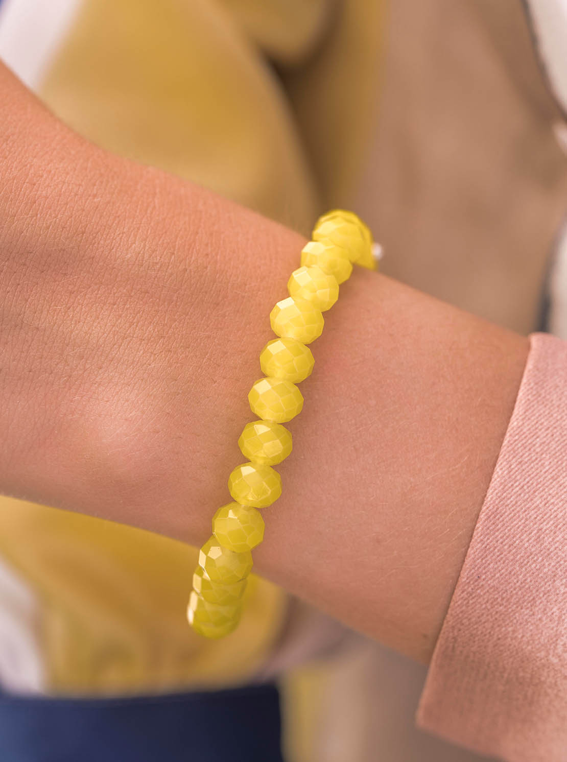 "Armband ""Clarksville"" - Lemon"