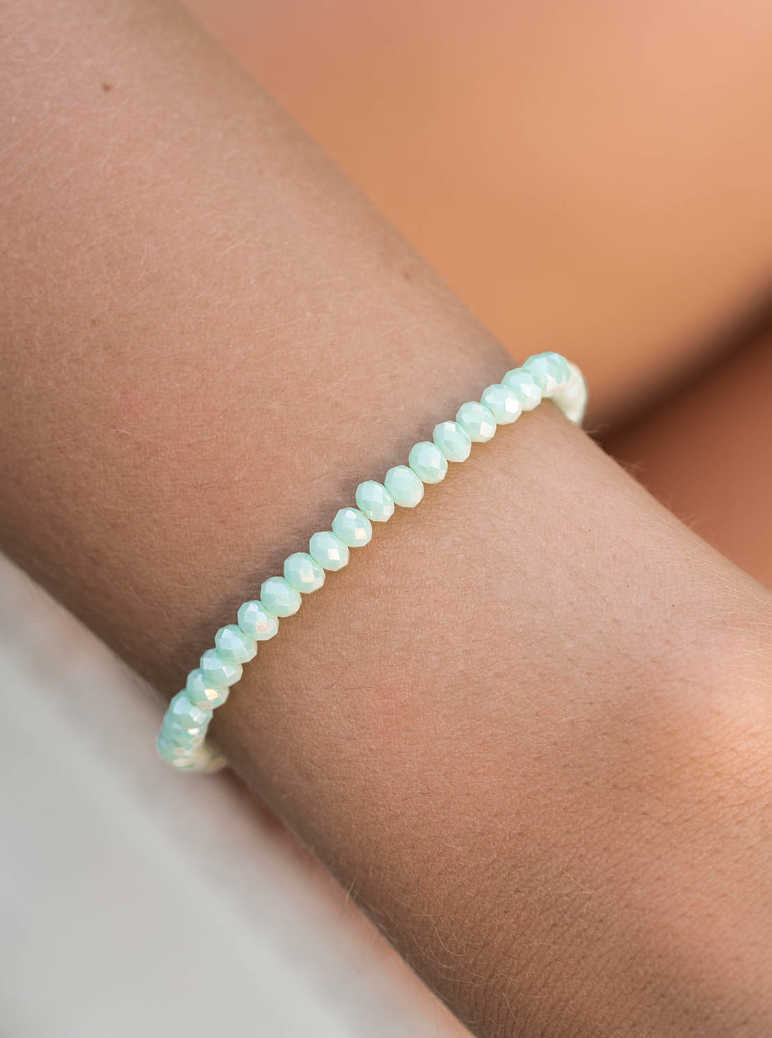 "Armband ""Knoxville"" - Shiny Ocean"