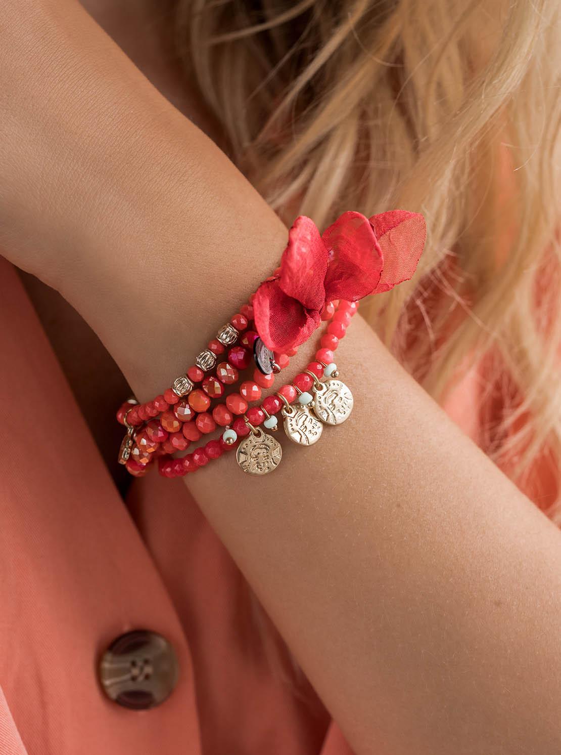"""Armband """"Nashville"""" - Reds"""