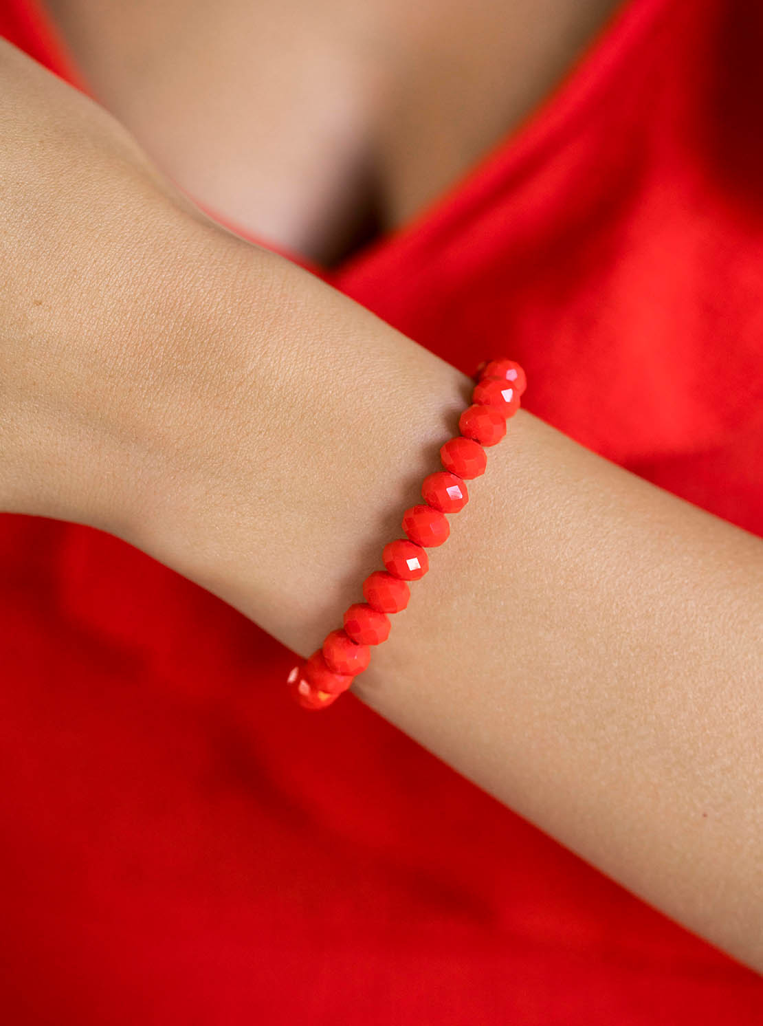 """Armband """"Clarksville"""" - Red Hot"""