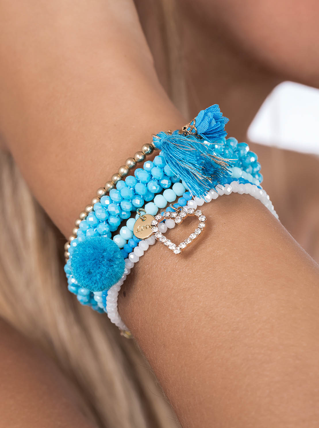 "Armband ""Jacksonville"" - Ocean"