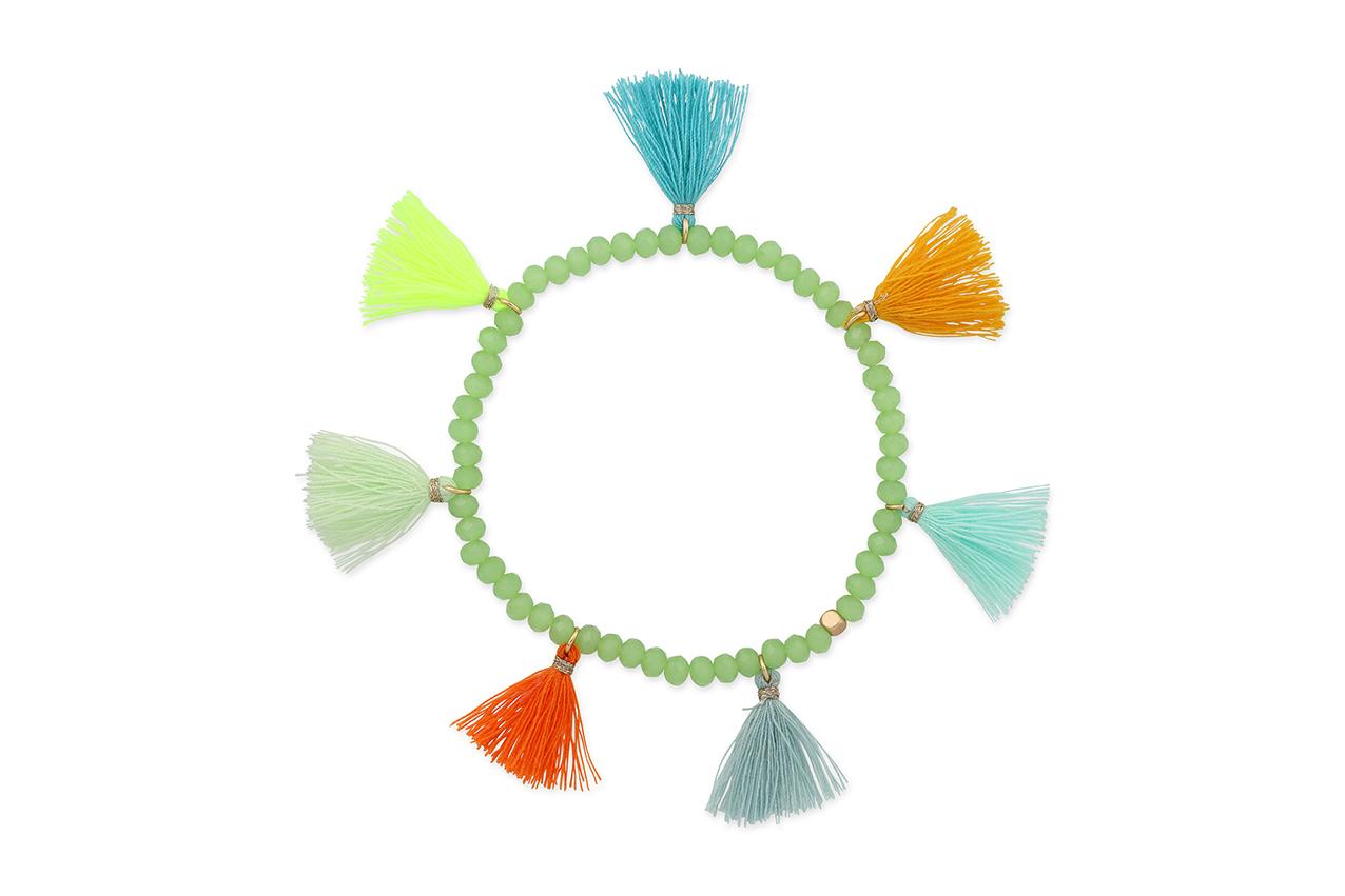 Armband - Colorful Tassels