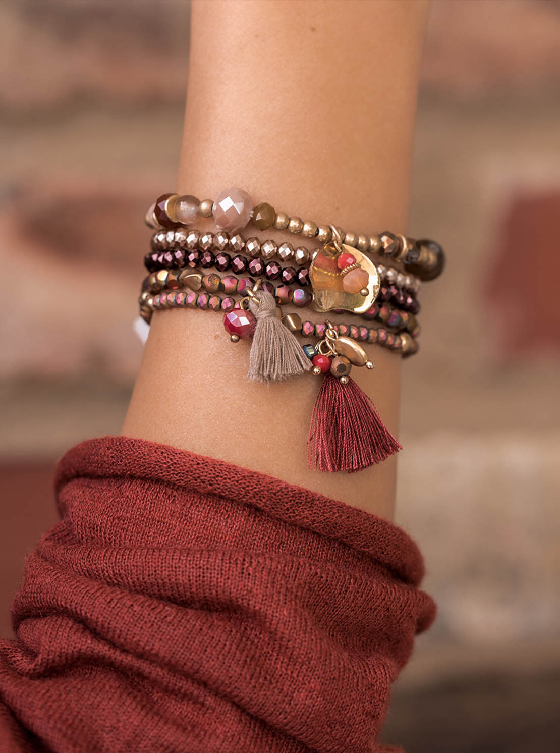 Armband - Coral Gold