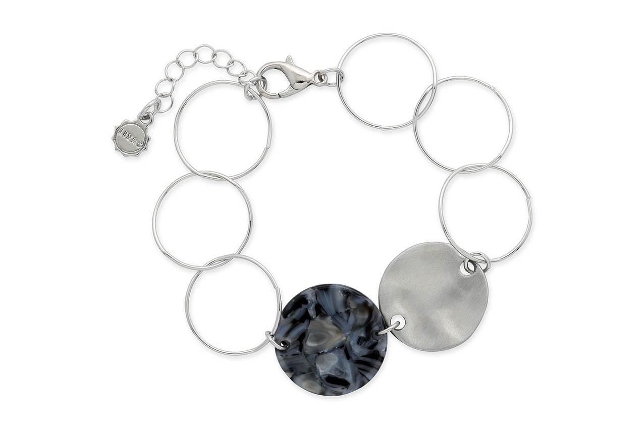 Armband - Black Silver