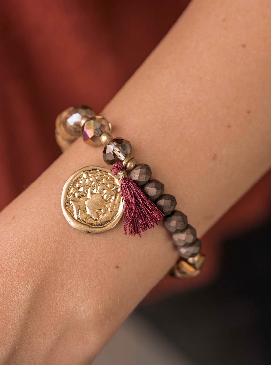 Armband - Ancient Maroon