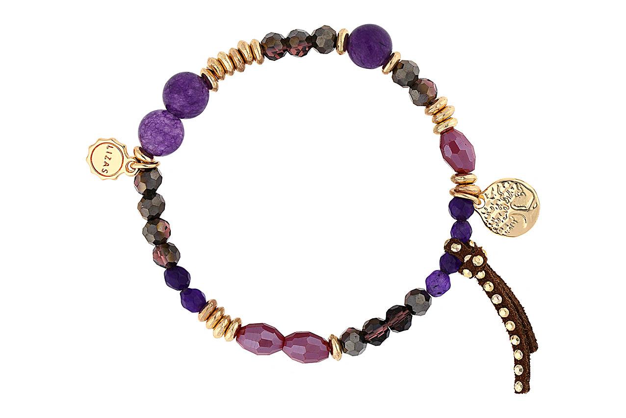 Armband - Purple Tree