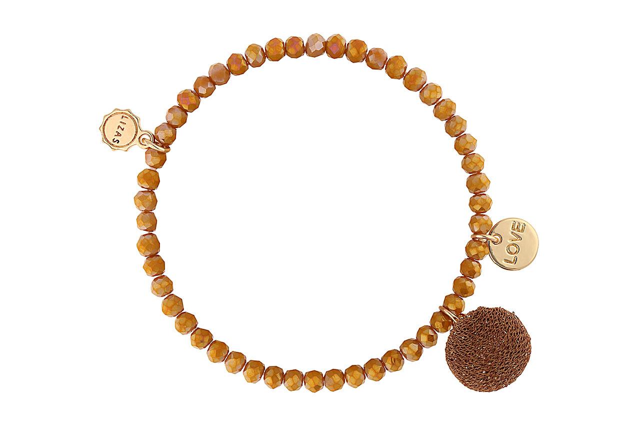 "Armband ""Pompon"" - Sahara"