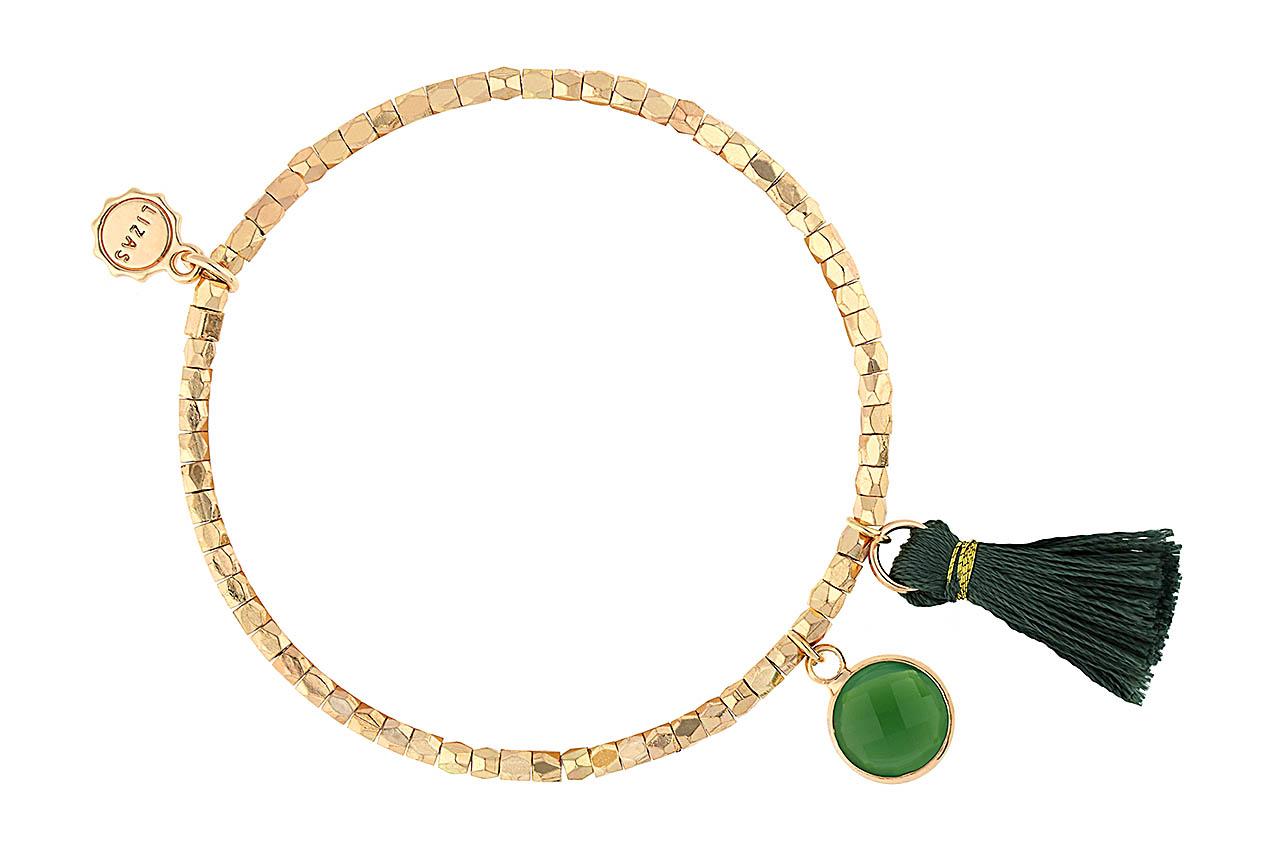 Armband - Deep-Green Crystal