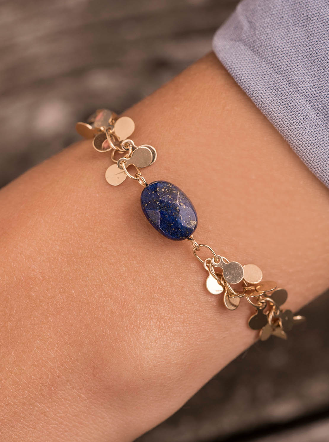 Armband - Gallia Lila