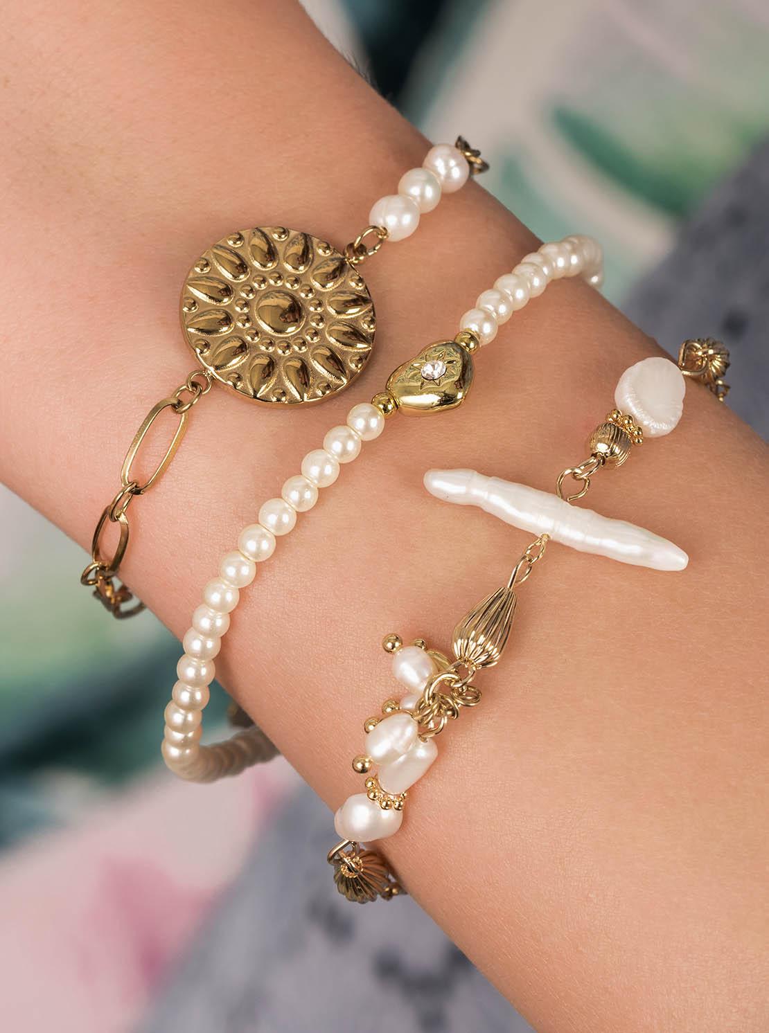 Armband - Golden Sea