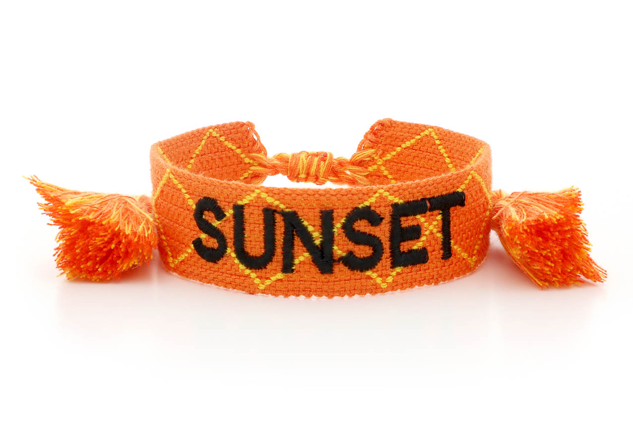 "Armband - Moana ""Sunset"""