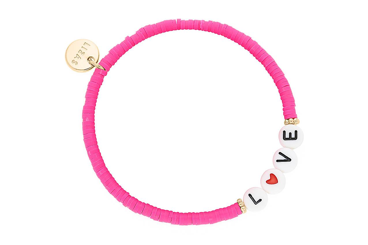 Armband - Love Pink