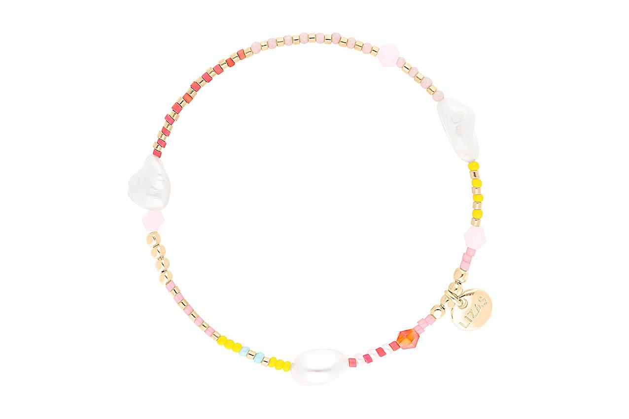 Armband - Beach Pearl Yellow