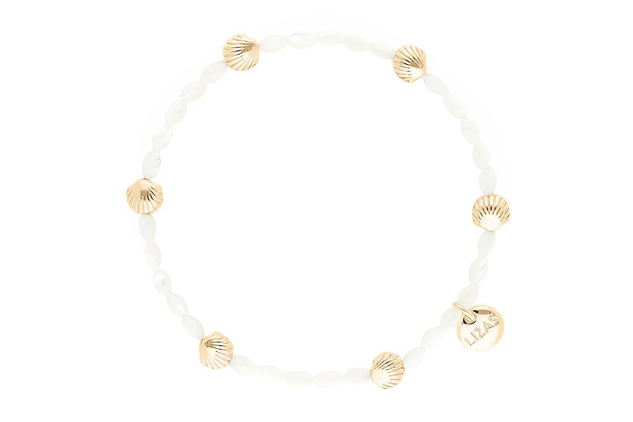 Armband - White Shell