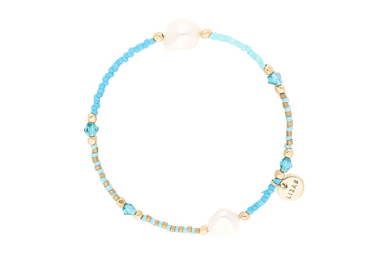Armband - Beach Pearl Turquoise